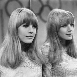 Marianne Faithfull by Giancarlo Botti, 1966