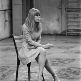 Marianne Faithfull by Giancarlo Botti, 1966