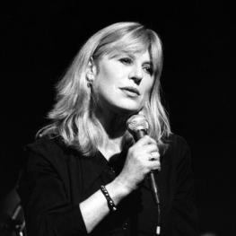 Marianne Faithfull at the Almeida Theatre London 1996