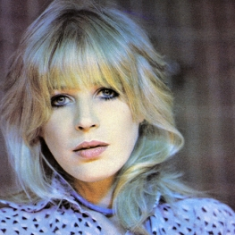 Marianne Faithfull by Antoine Giacomoni 1980