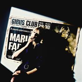 Marianne Faithfull in Paris by Arnaud Baumann 1995