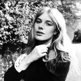 Marianne Faithfull by Bill Rowntree 1970