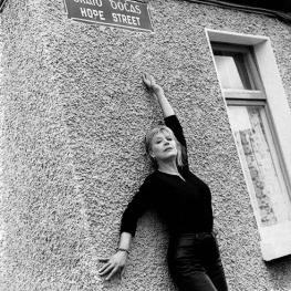 Marianne Faithfull in Hope Street by Bruce Weber 1996