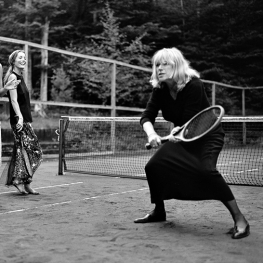 Marianne Faithfull by Bruce Weber 1997