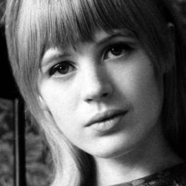 Marianne Faithfull by Chris O'Dell 1964