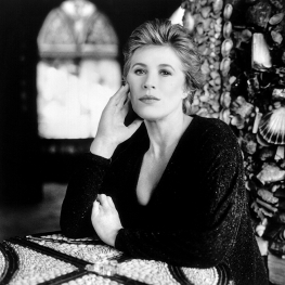 Marianne Faithfull at Shell Cottage by Colm Henry 1990