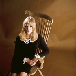 Marianne Faithfull by David Wedgbury 1964