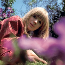 Marianne Faithfull for Decca by David Wedgbury 1965