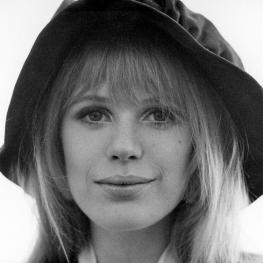 Marianne Faithfull by Dezo Hoffmann 1967