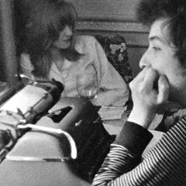 Marianne Faithfull and Bob Dylan in Don't Look Back