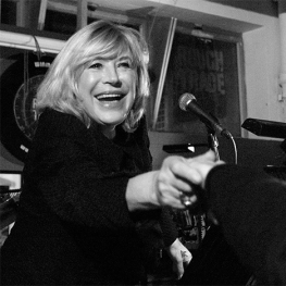 Marianne Faithfull at Rough Trade East by Gaynor Perry 2009