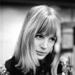 Marianne Faithfull at Decca Studios by Gered Mankowitz 1964