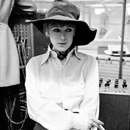 Marianne Faithfull by Gered Mankowitz 1968