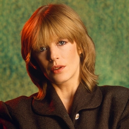 Marianne Faithfull by Gunter W. Kienitz, 1983