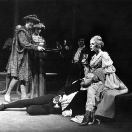Marianne Faithfull in Hamlet 1969