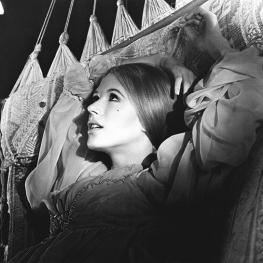 Marianne Faithfull in Hamlet 1970