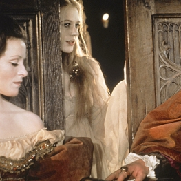 "Marianne Faithfull with Judy Parfitt and Anthony Hopkins in ""Hamlet"" 1970"
