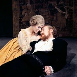 Marianne Faithfull in Hamlet with Nicol Williamson 1970
