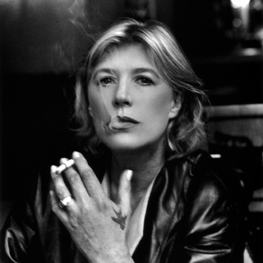Marianne Faithfull in Monte Carlo by Helmut Newton 1999