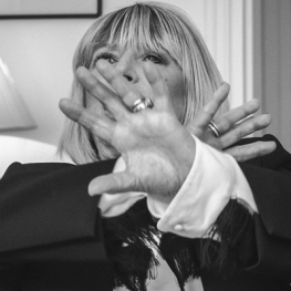 Marianne Faithfull by Jean-Christophe Moine 2015