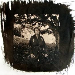 Marianne Faithfull by Jean-Luc de Laguarigue 1991