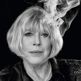 Marianne Faithfull by Jo Magrean, 2016