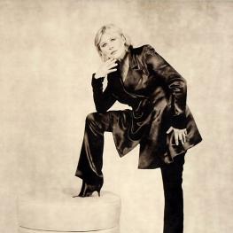 Marianne Faithfull by Karl Largerfeld 2010