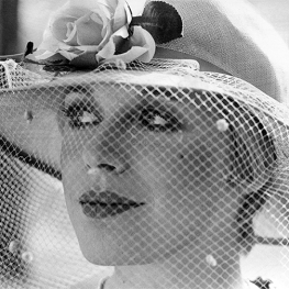 Marianne Faithfull modelling an Edward Mann hat April 1974 Photographed by Ken Towner