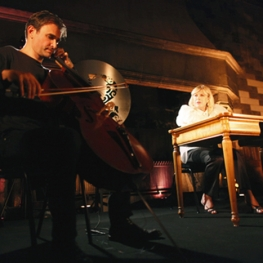 Marianne Faithfull and Vincent Segal performing Shakespeare Sonnets 2009
