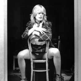 Marianne Faithfull by Pennie Smith 1979