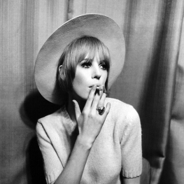 Marianne Faithfull in Hamburg by Peter Seeger 1967 2