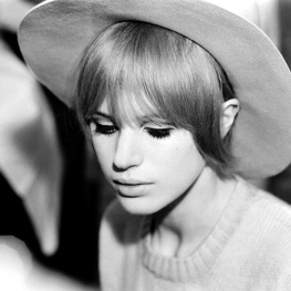 Marianne Faithfull in Hamburg by Peter Seeger 1967