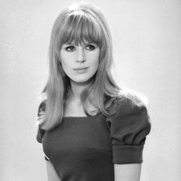 Marianne Faithfull by Pierre Fournier 1966