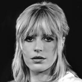 Marianne Faithfull by Pieter Mazel 1979
