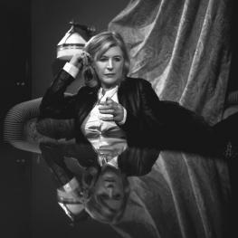 Marianne Faithfull by Richard Schroeder 2004