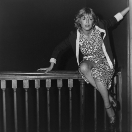 Marianne Faithfull by Robert Mapplethorpe 1967