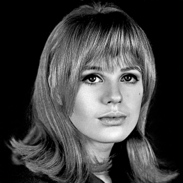 Marianne Faithfull by Ronald Falloon 1965