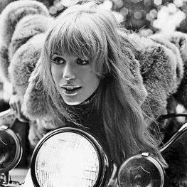Girl On A Motorcycle - 1967