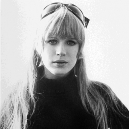 Marianne Faithfull in The Girl on a Motorcycle 1967