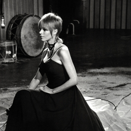 Marianne Faithfull in The Rolling Stones Rock and Roll Circus 1968