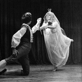 Marianne Faithfull in The Snow Queen at St Josephs 1963