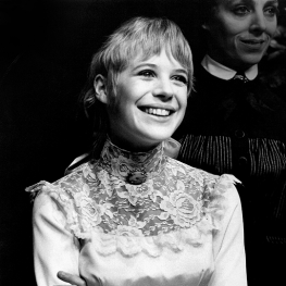 Marianne Faithfull in Three Sister at Royal Court 1967