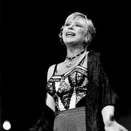 Marianne Faithfull in the Threepenny Opera at Dublin Gate 1993
