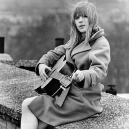 Marianne Faithfull by Tom Smith 1965