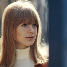 Marianne Faithfull by Tony Frank 1966