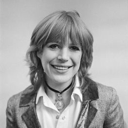 Marianne Faithfull in London, February 1978