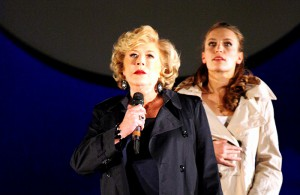 Marianne in the Landestheatre production of The Seven Deadly Sins with Anna Sterbova, Linz, 2012