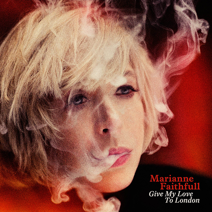 Marianne Faithfull  Give My Love To London cover ret web2