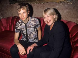 Marianne Faithfull with Beck at The Roxy, NY, 1998 (Photo by Ke.Mazur)