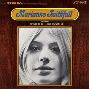 The U.S. cover of Marianne's eponymous album